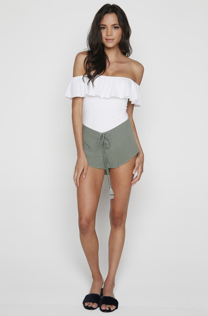 Cab Shorts in Sage