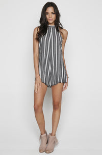 Desert Romper in Stripe