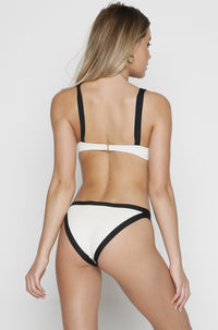 Charlie Bikini Bottom in Cream