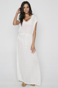 Noveau Coverup in White