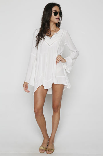 Northern Star Tunic in Ivory
