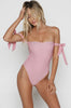 Tie It Up One Piece in Candy Stripe