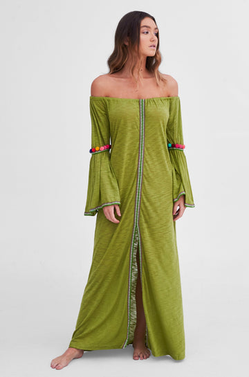 Gypsy Dress in Olive