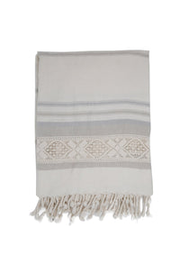 Lenox Towel in Moon + Stone
