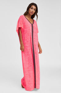 Inca Abaya in Hot Pink