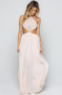 INDAH Revel Maxi Dress in Peach|ISHINE365 - 1