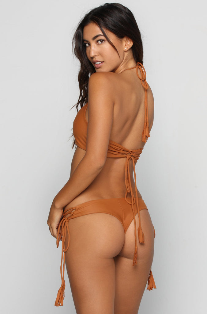 KAOHS Gypsy Bikini Bottom in Bronze|ISHINE365 - 1