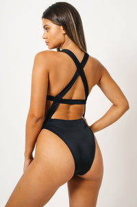 Sofia One Piece in Black