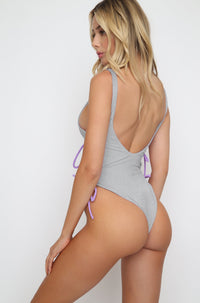 Kati One Piece in Lilac Colorblock