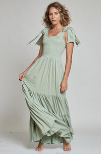 Evita Dress in Green