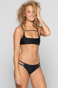 MIKOH SWIMWEAR 2016 Molokai Bikini Bottom in Night|ISHINE365 - 3