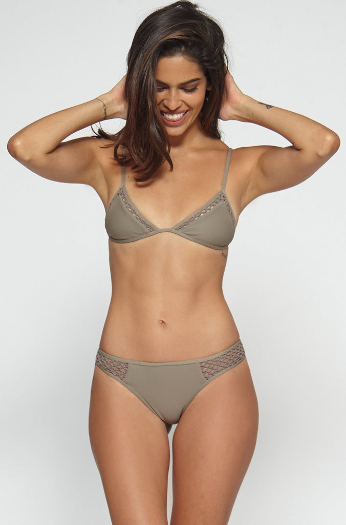 Posh Pua Kahana Bikini Bottom in Smoke|ISHINE365 - 6