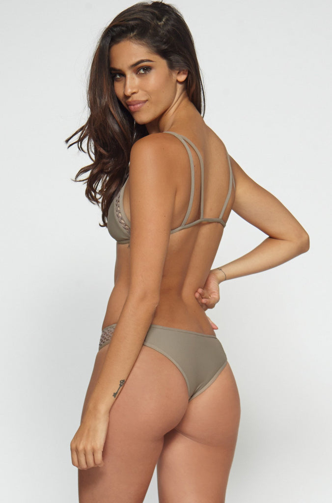 Posh Pua Kahana Bikini Bottom in Smoke|ISHINE365 - 5