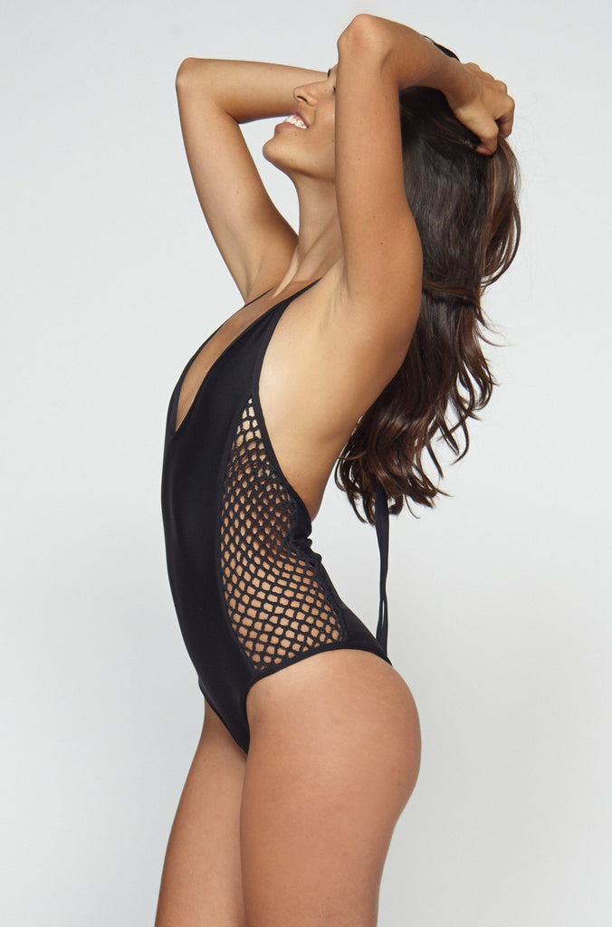 Posh Pua Pa'akai One Piece in Black|ISHINE365 - 5