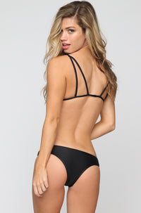 Posh Pua Kahana Bikini Bottom in Black|ISHINE365 - 2