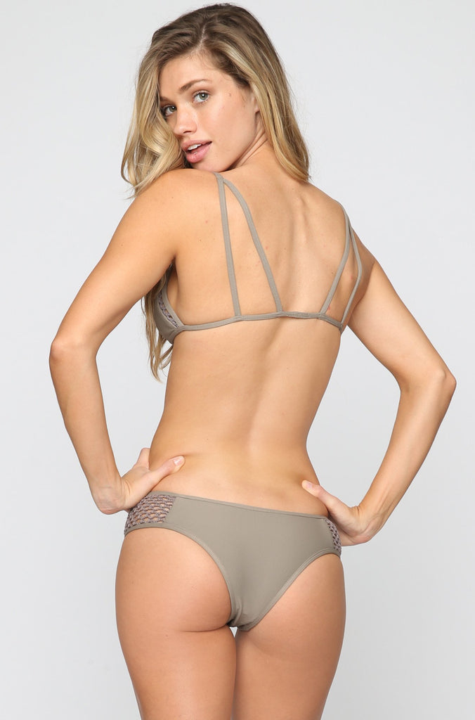 Posh Pua Kahana Bikini Bottom in Smoke|ISHINE365 - 1