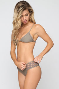 Posh Pua Kahana Bikini Bottom in Smoke|ISHINE365 - 2