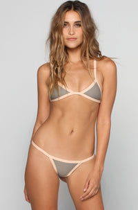 Posh Pua Kainalu Bikini Bottom in Smoke/Bare|ISHINE365 - 3