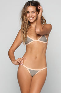 Posh Pua Kainalu Bikini Bottom in Smoke/Bare|ISHINE365 - 2