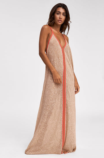 Inca Sundress in Nude
