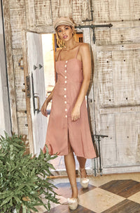 Camilla Dress in Rose