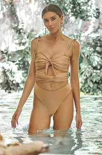 Magdalena One Piece in Rose Gold