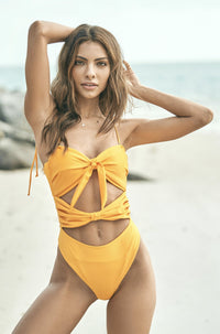 Magdalena One Piece in Yellow