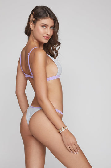 Casi Bottom in Grey/Lilac