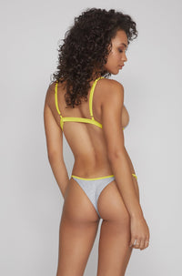 Casi Bottom in Grey/Yellow