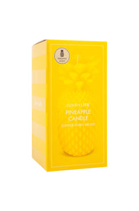 Sunny Life Large Pineapple Candle in Yellow|ISHINE365 - 3