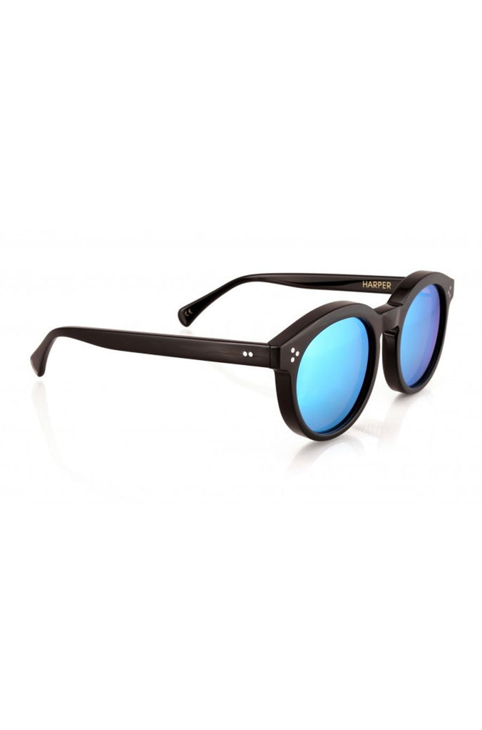 Wildfox Harper Deluxe Sunglasses in Black|ISHINE365 - 3
