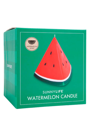 Large Watermelon Candle