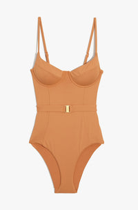 Danielle One Piece Swimsuit in Nude