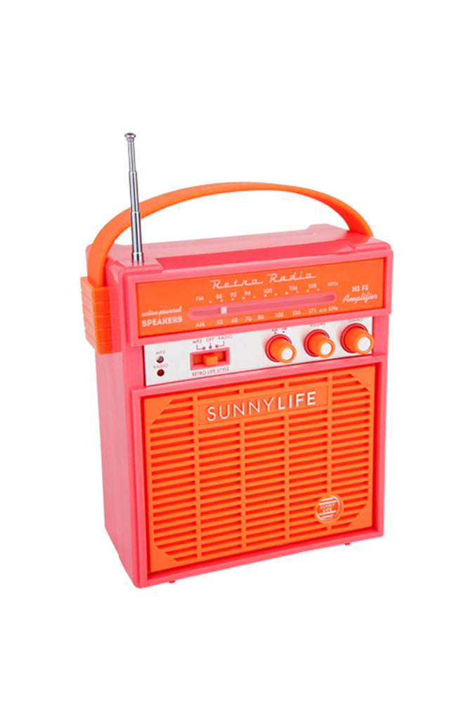 Retro Sounds in Pink/Orange