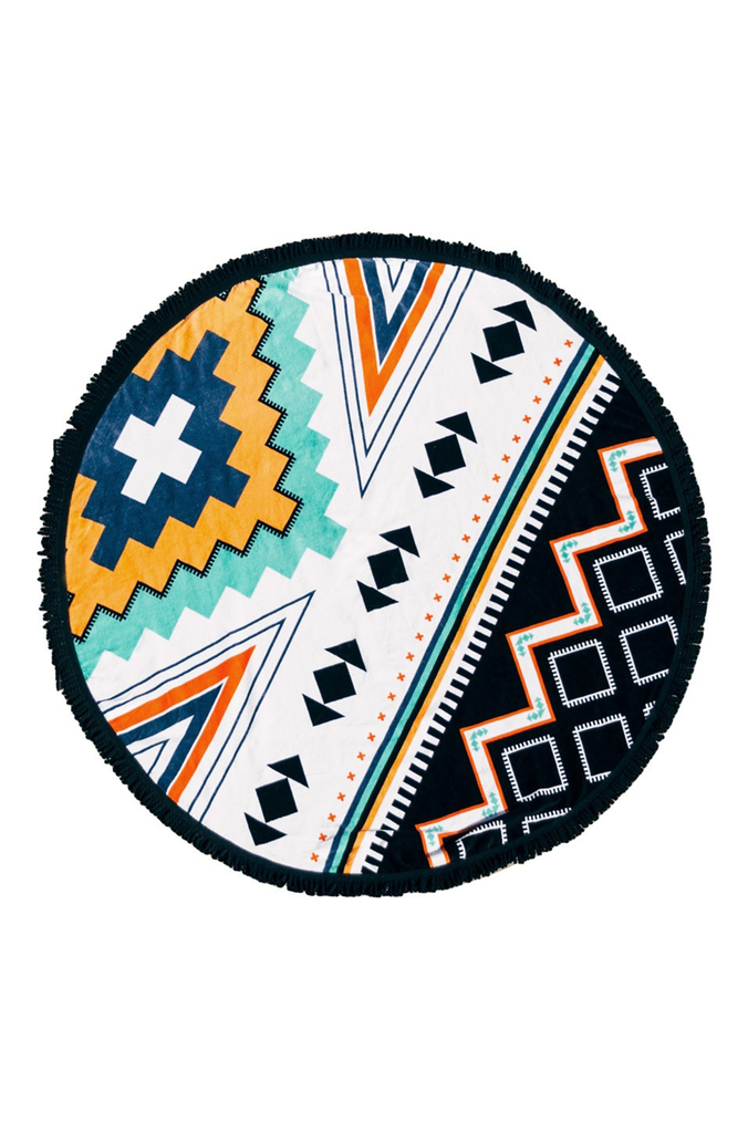 The Beach People The Palm Springs Roundie Beach Towel|ISHINE365 - 1