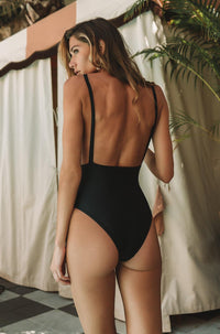 Allie One Piece in Black