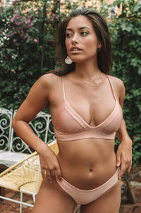 Dana The Delinquent Top in Blush + Bashfull
