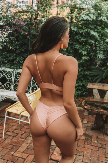 Clairee Bottom in Blush + Bashfull