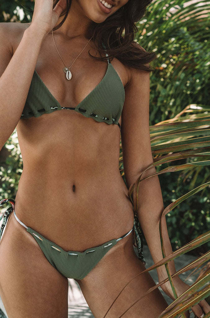 Misma Bottom in Tropical Olive