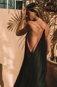 Pima Inca Jumpsuit in Black