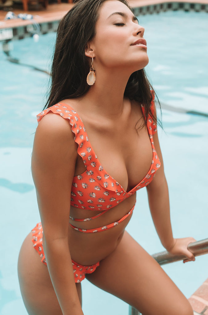 Lauren Top in Orange