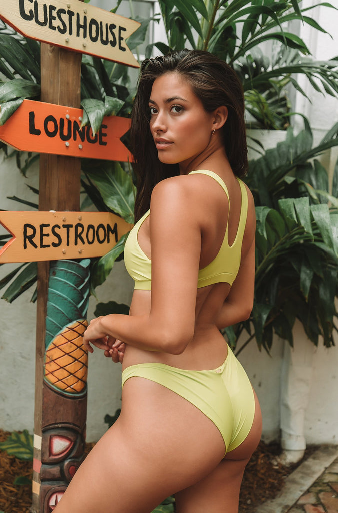 Dani Skimpy Bottom in Lime