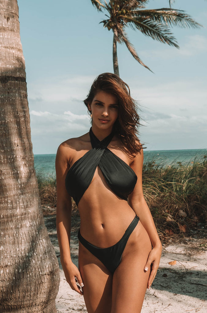 Hailey One Piece in Black