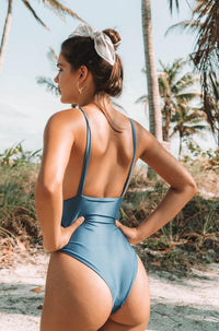Allie One Piece in Atlantic