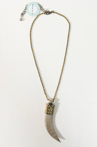 Natalie B Jewelry Moorea Horn Necklace|ISHINE365 - 1