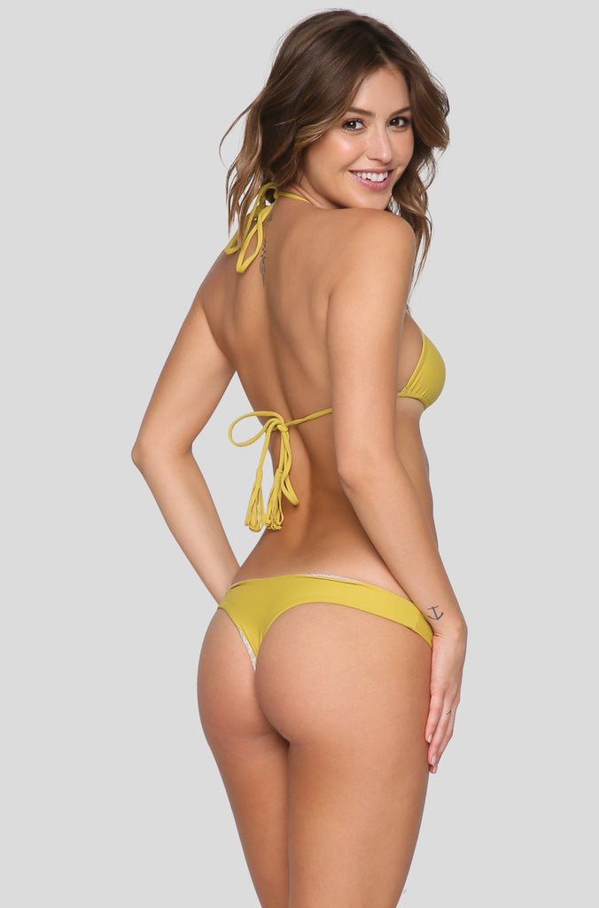 Cannons Bikini Top in Pineapple