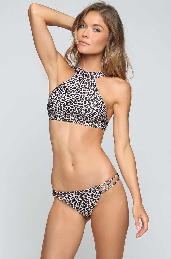 ACACIA SUMMER Dubai Bikini Top in Snow Leopard|ISHINE365 - 3