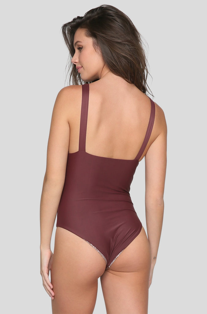 France One Piece in Merlot