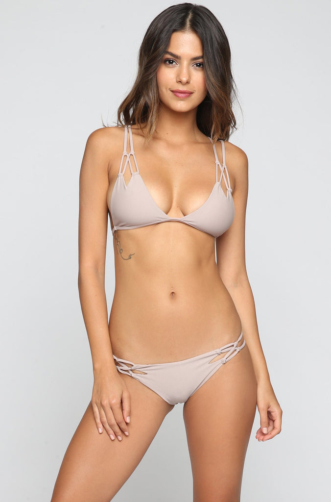 ACACIA SUMMER Nusa Bikini Bottom in Driftwood|ISHINE365 - 3