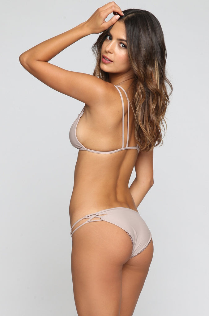 ACACIA SUMMER Nusa Bikini Bottom in Driftwood|ISHINE365 - 1